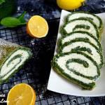 Rolada szpinakowa z cytrynowym serem