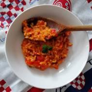Chorwacja - Ryż z ajwarem (Ajvar Riža)