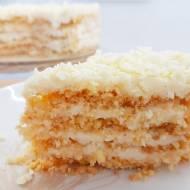 Niesamowite ciasto przekładane bez pieczenia
