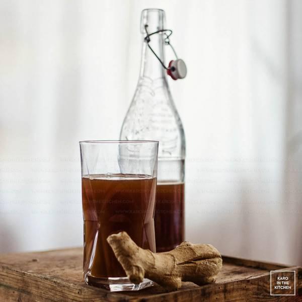 Piwo imbirowe na herbacie Earl Grey. Z procentami