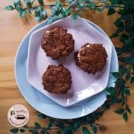 Czekoladowe burgery – Ciastka brownie na belgijskiej czekoladzie deserowej pomiędzy puszysty krem z masłem orzechowym