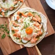 Mini pizza z jajkiem – najzdrowsze śniadanie na świecie?