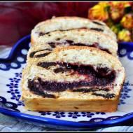 Śliwkowe ciasto drożdżowe z konfiturą