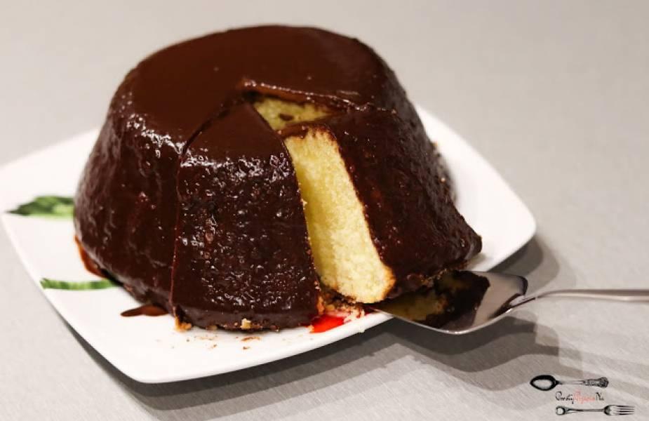 Pyszna babka w czekoladzie