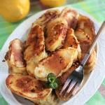 Bananowe kopytka (banany smażone w cieście) - nowy post na słodkich sio-smutkach