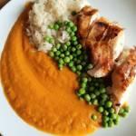 Pieczony kurczakw sosie marchwiowo imbirowym – przepyszne oraz low fodmap