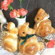 Bułeczki zajączki na Wielkanoc
