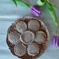 Kakaowe ciasteczka tłuczone