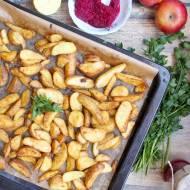 Pieczone ziemniaki ze skórką