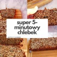 Super 5-minutowy prosty i zdrowy chleb