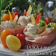 Jajka w szynce szwarcwaldzkiej