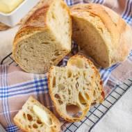 Chleb francuski wiejski na drożdżach