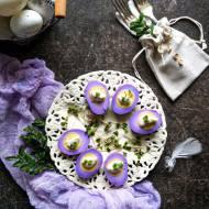 Fioletowe jajka (marynowane w czerwonej kapuście)