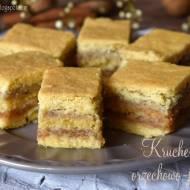 Kruche ciasto orzechowo-jabłkowe – kuchnia podkarpacka
