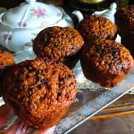 Muffiny-pieguski kawowe z chałwą