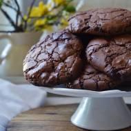 Popękane ciasteczka brownie