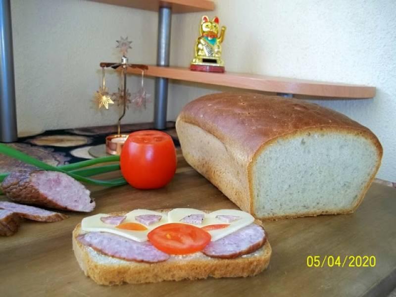 Chleb z majonezem