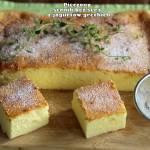 Pieczony sernik bez sera (z jogurtów greckich)