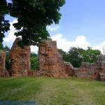 Ruiny zamku w Raciążku woj. kujawsko - pomorskie