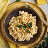 Sałatka z kukurydzą i ananasem