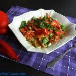 Papryka w sosie śmietanowym