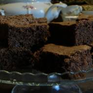 Brownie czekoladowo-miętowe