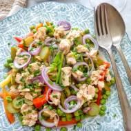 Kolorowa sałatka z tuńczykiem (Insalata di tonno)