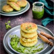 Placuszki ziemniaczane z sezamowym pesto!