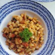 Włochy - Makaron z fasolą (Pasta e fagiolo)