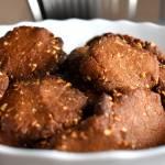 Ciasteczka czekoladowo-orzechowe + filmik
