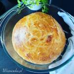 Prosty chleb pszenny z garnka, na drożdżach