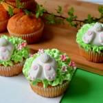 Świąteczne babeczki z zajączkami