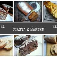 Babki, ciasta z makiem oraz keks na Wielkanoc