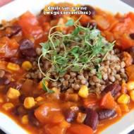 Chili sin carne - wegetariańskie