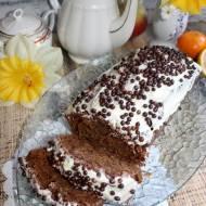 Ekspresowe ciasto kakaowe z dżemem