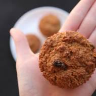 Muffinki otrębowe z rodzynkami