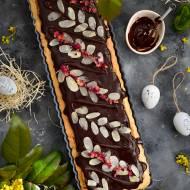 Wielkanocny mazurek z migdałami i czekoladą!