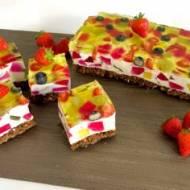 Zaczarowany ogród – pyszne ciasto bez pieczenia!