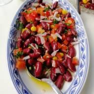 Austria - Sałatka z czerwoną fasolą (Käferbohnensalat)