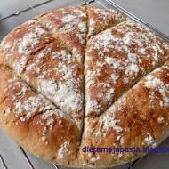 Chleb z mąką orkiszową bez wyrabiania