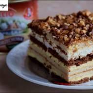Ciasto Snickers - bez pieczenia