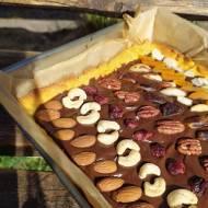 Kruche ciasto na gotowanych żółtkach / Mazurek