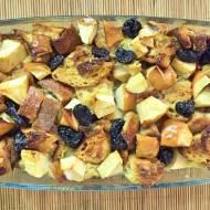 Szarlotka z chleba i resztek pieczywa