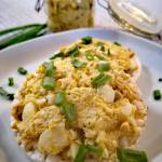 Pasta jajeczna z tuńczykiem i ogórkiem kwaszonym