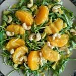 Sałatka z pomarańczą i awokado