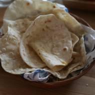 Indyjski chlebek Chapatis