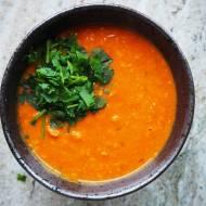 Masoor dal tadka,  czyli szybka sycąca , gęsta zupa z 4 składników