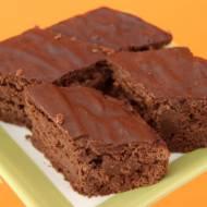 Brownie z czerwonej fasoli (ciasto czekoladowe paleo)