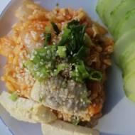 Korea Południowa - Ryż z kimchi (Kimchi bokkeumbap)