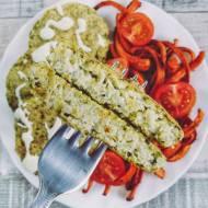 Wegańskie kotlety z brokuła
